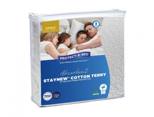 1. SINGLE PROTECT-A-BED MATTRESS PROTECTOR