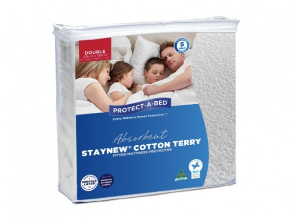 3. DOUBLE PROTECT-A-BED MATTRESS PROTECTOR