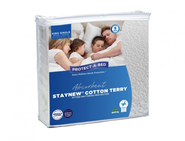 2. KING SINGLE PROTECT-A-BED MATTRESS PROTECTOR