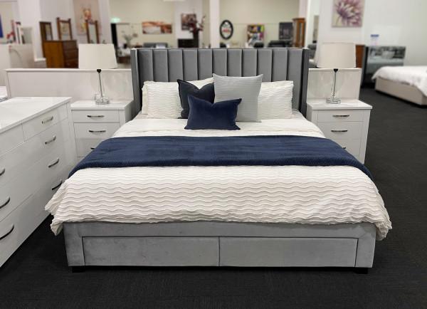 MELINA STORAGE BED FRAME